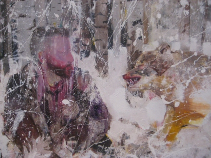 detail, Persian Miniature, 2013, 300 x290 cm